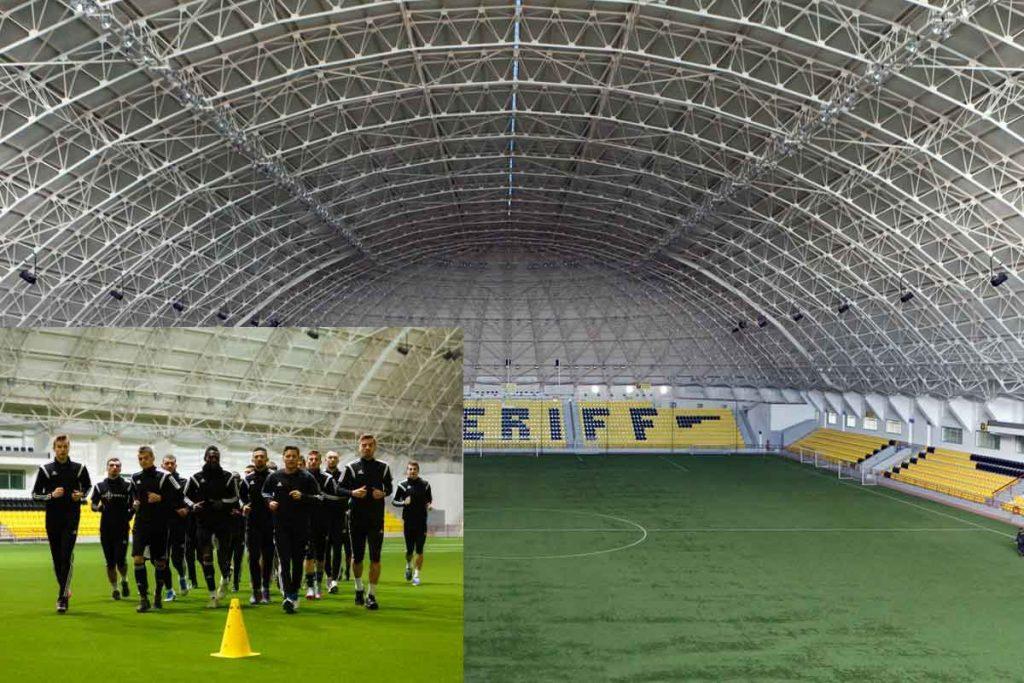 Stadion Indoor Sheriff (Kredit: situs resmi FC Sheriff Tiraspol)