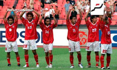 Tim Nasional Indonesia di Piala Asia 2004 (Kredit: Twitter @afcasiancup)