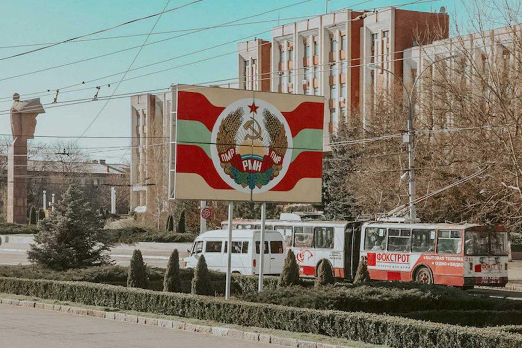 Tiraspol, ibukota negara Transnistria (Kredit: thealternativetravelguide)
