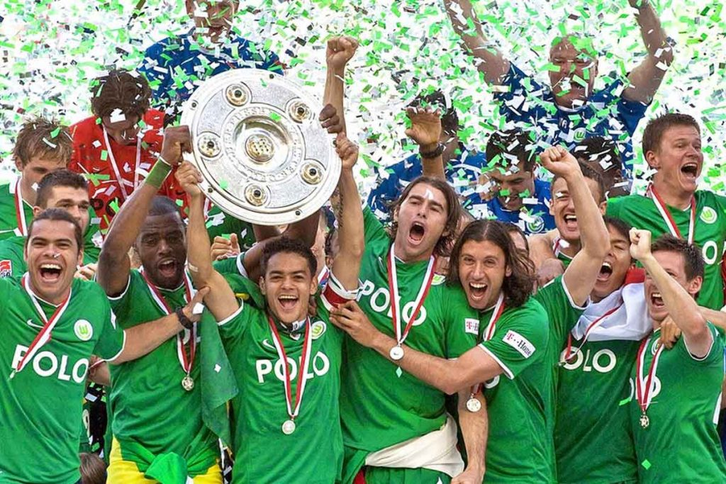 VfL Wolfsburg saat juara Bundesliga 2008-2009 (Kredit: ndr.de)