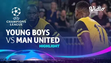 Young Boys 2-1 Man. United Pekan 1