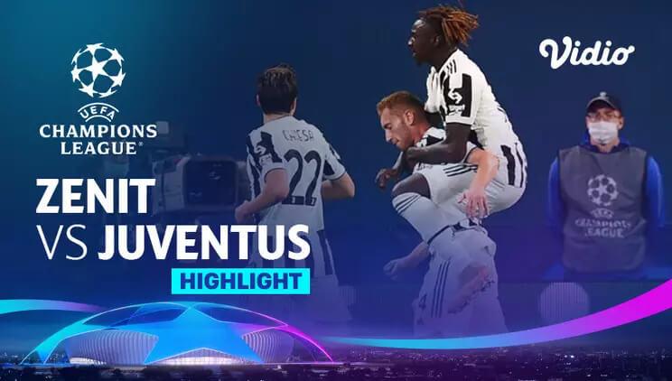 Zenit St. Petersburg 0-1 Juventus Pekan 3