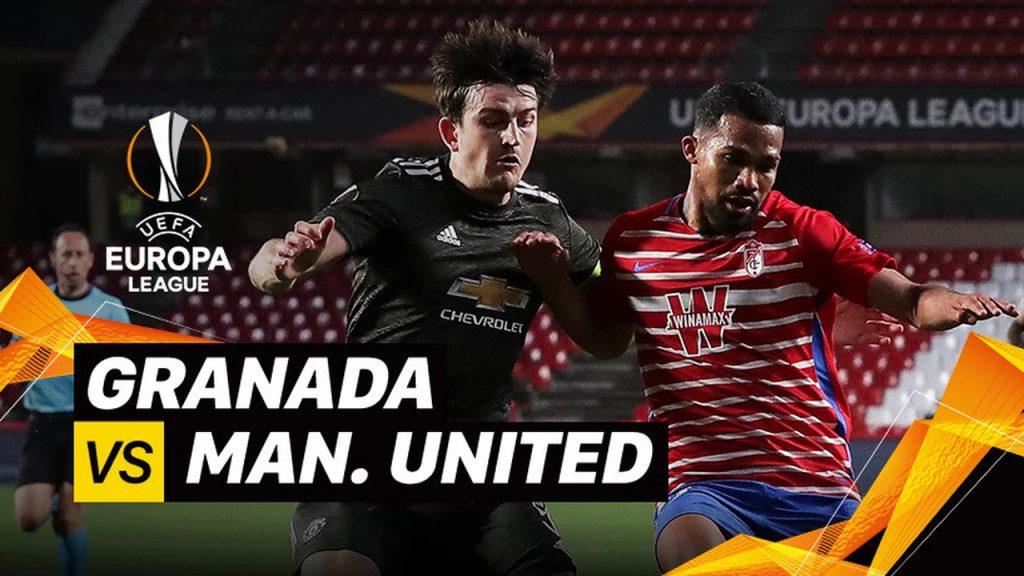 Granada 0-2 Man United Babak 8 Besar 1st Leg