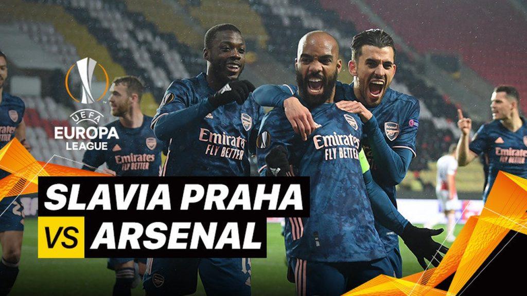 Slavia Praha 0-4 Arsenal 8 Besar – 2nd Leg