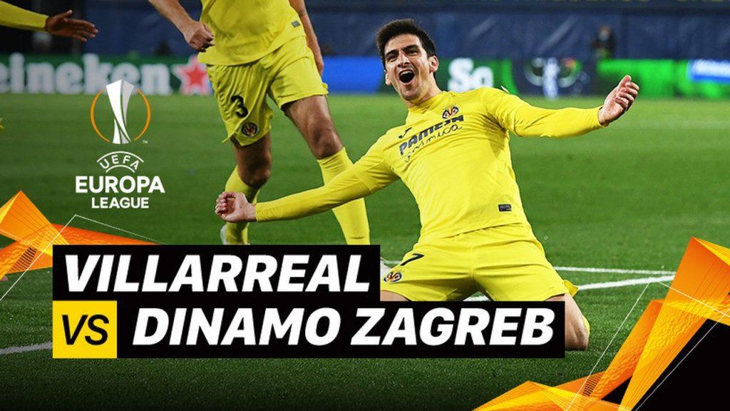 Villarreal 2-1 Dinamo Zagreb 8 Besar – 2nd Leg